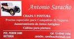 Antonio Saracho Chapa y Pintura en Victoria, San Fernando