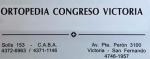 Ortopedia Congreso Victoria - San Fernando