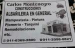 Constructor Carlos Montenegro - Tigre